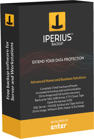 Iperius Backup Desktop - Windows 10 backup software
